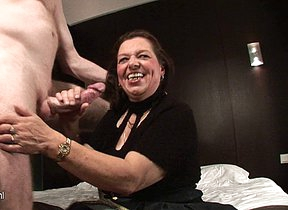Mature couple fucking and getting unsightly