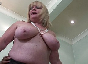 This chubby mama loves to get fucked hard and long