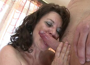Horny housewife shagging with the dude next door