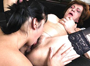 hairy grey and young lesbians lick eachother long and impenetrable depths