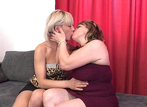 Three gungho mature lesbians getting each other gungy