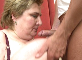 Famous breasted BBW getting fucked unconnected with her toy boy