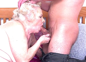 This big mama loves to fuck and suck her toy boy