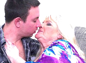 Mature BBW fooling around with say no to toy boy