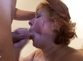 We love to fuck a mature slut with the two of us