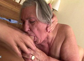 Granny gets a mouth full be worthwhile for cum