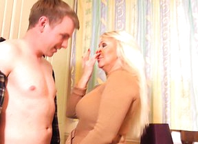Hot British housewife fucking with the addition of sucking like a maniac