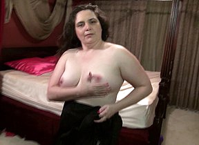 American chubby housewife knows how nearby please herself