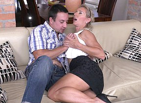 Hot increased by saleable hosewif having it away increased by sucking her ass off