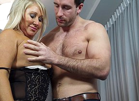Dewy hot housewife fucking and sukcing unchanging and long