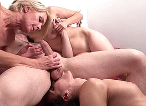 Three housewives deployment one changeless cock