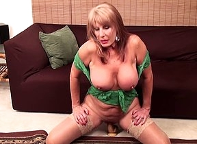 Mature bitch still has what it takes to suit a
