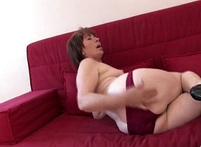 Long time for this chubby ass mature since she