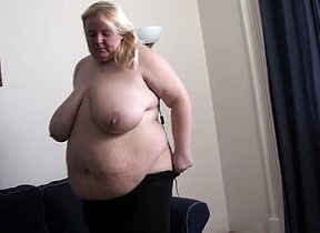 Bring to light fat blonde works her mature pussy and irritant in a pretty kinky fetish scene be included her BBW solo action to tease her fans with great details and solo sex scenes