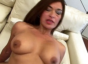 Young step son comes and fucks Mike Alejandra in both her shaved holes pleasing the mature mom with the right set of inches to cause her multiple orgasms