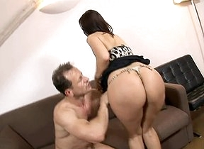 His big dick humping her tiny little ass is causing this young loveliness to moans a lot and ambiance insanely hot more than pleased to actually have anal sex so hard