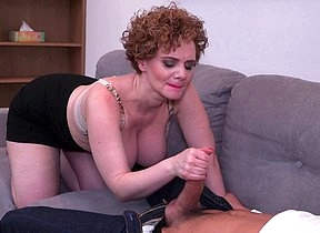 Hot mature MErce loves a throbbing abiding cock