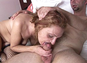 Horny grown up slut gets fucked everlasting increased by long
