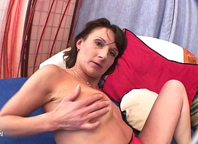 Kinky housewife Stepanka loves to play unequalled